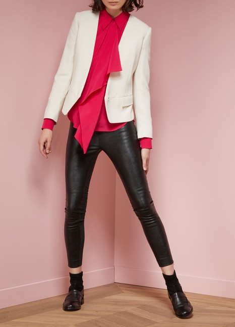 Stella McCartney Blazer en cady stretch Valentina
