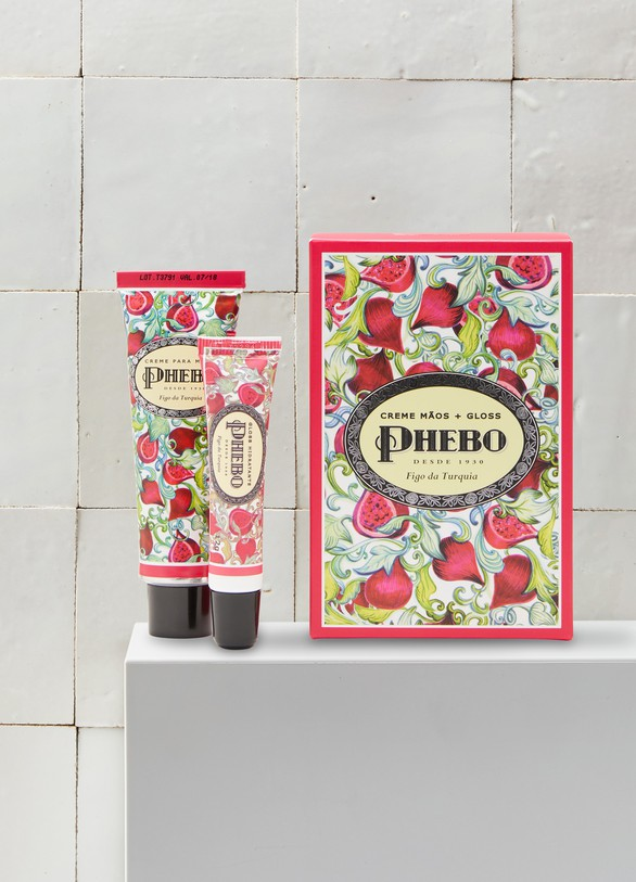 Phebo Figo da Turquia hand cream & gloss kit