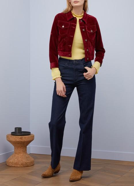 Marc JacobsVeste courte en velours