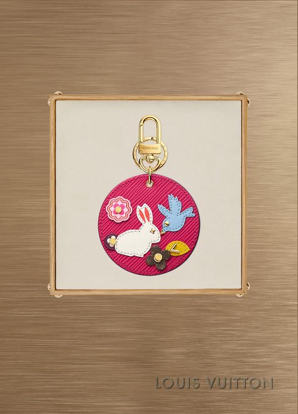 Louis VuittonBijou de sac et porte-clés Rabbit Round