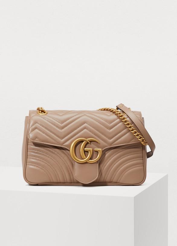 Sac à épaule GG Marmont matelassé femme   Gucci   24 Sèvres 7eb1ad40678