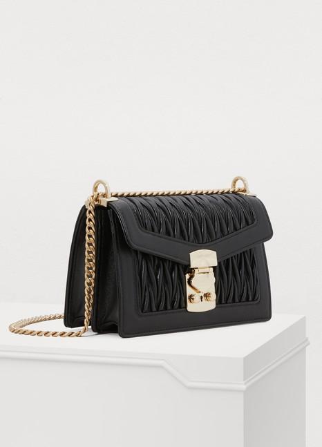 1018007309cf Women s Miu Confidential matelassé crossbody bag
