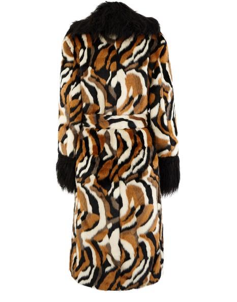 STAUDCoraline faux fur coat