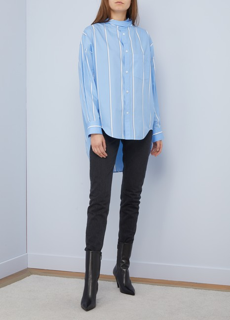 Balenciaga New swing oversize shirt