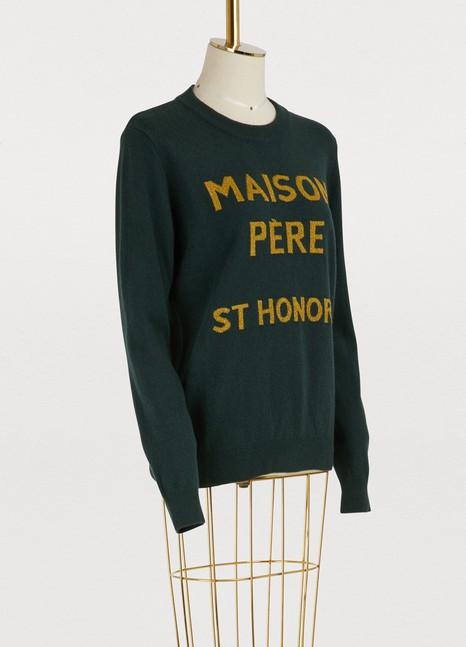 Maison PèreWool St. Honoré sweater