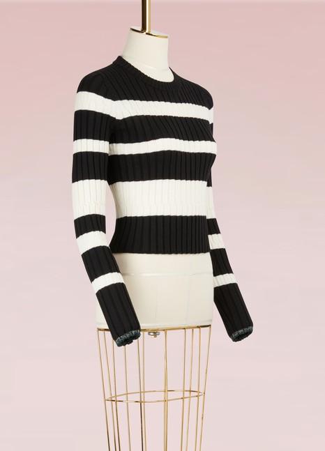 Proenza SchoulerStriped Wool Sweater