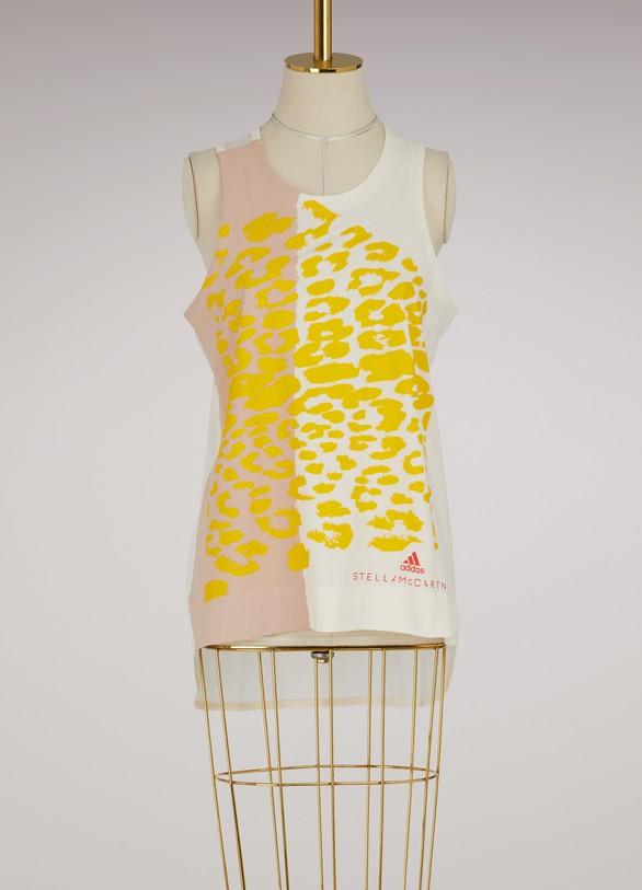 adidas by Stella McCartneyEssentials leo printed tank top