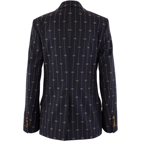 GUCCI GG striped wool blazer
