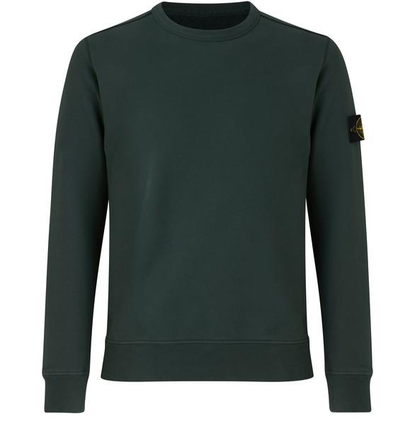 STONE ISLANDRegular cotton round-neck sweatshirt