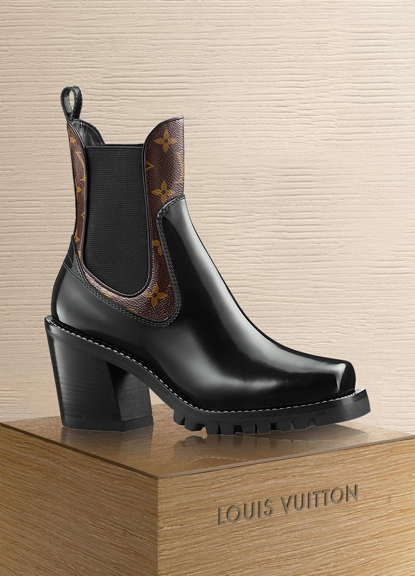 Women S Limitless Ankle Boot Louis Vuitton 24 Sevres