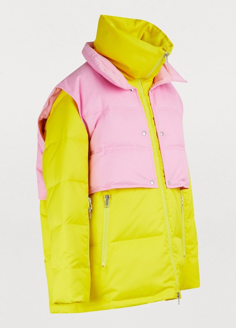 Calvin Klein 205W39NYC Down jacket with zippered sleeves