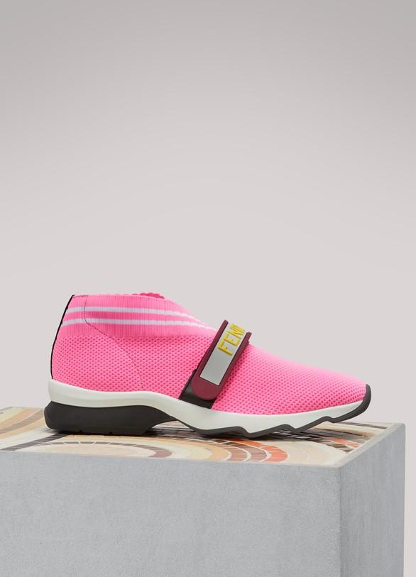 FENDISneakers en tissu