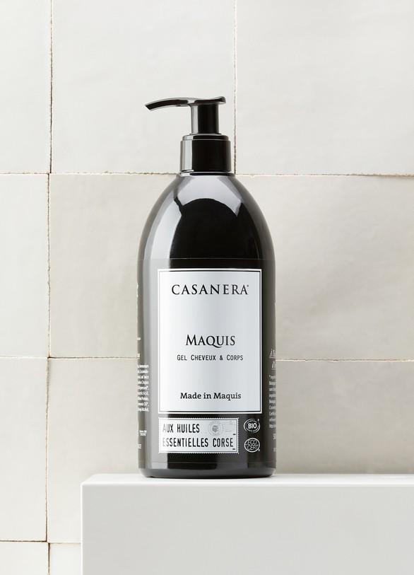 CASANERASoin corps et cheveux aux essences du Maquis 500 ml