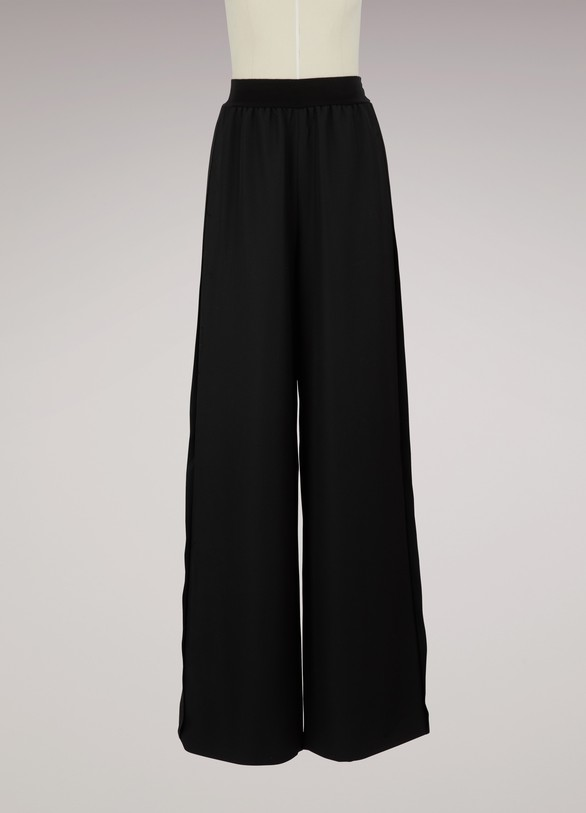 Maison Margiela Wide leg wool pants