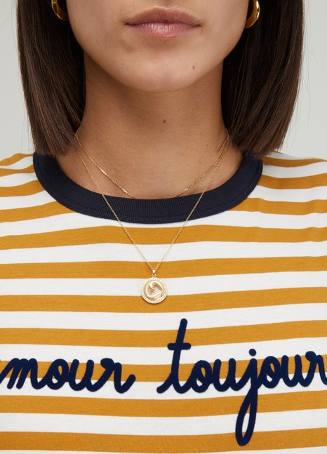 d482728673 Women's Amour toujours striped T-shirt | Maison Labiche | 24S | 24S