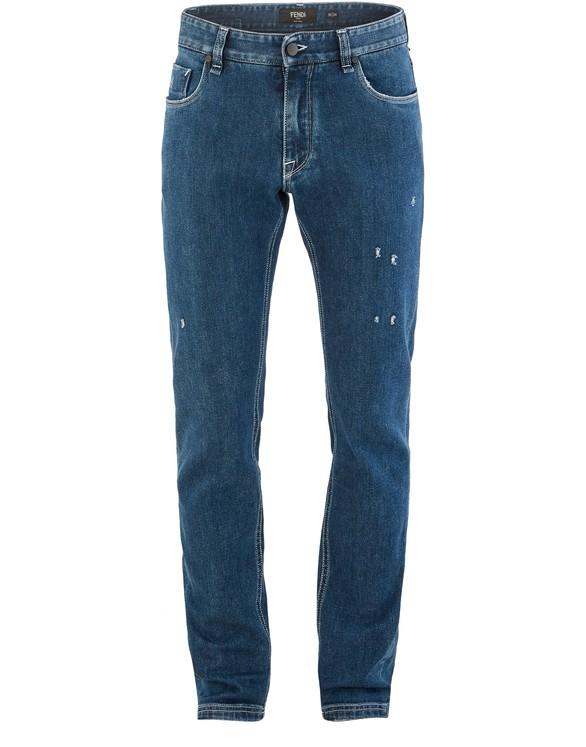 FENDI Jeans with Diabolic detail
