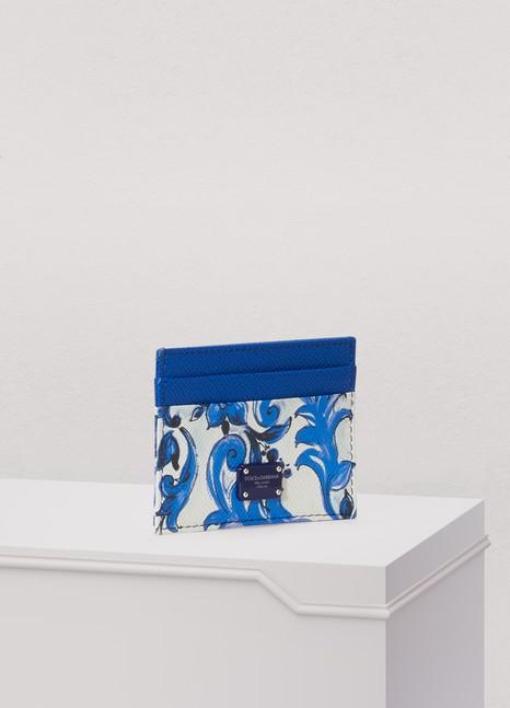 Dolce & GabbanaMaiolica cardholder