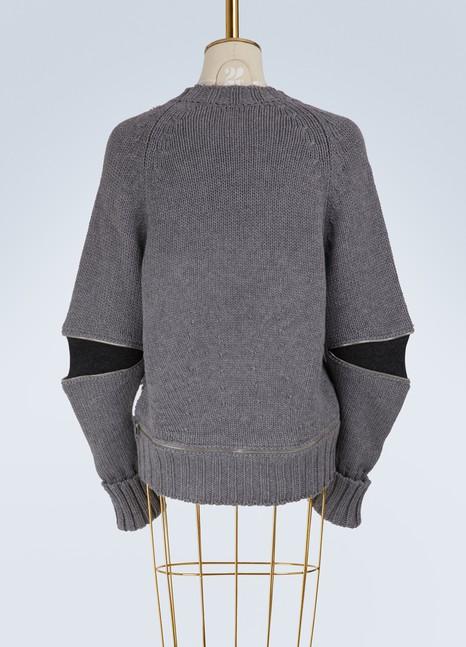 42160c53c6e9 Pull brodé en laine   ALEXANDER MCQUEEN   24 Sèvres