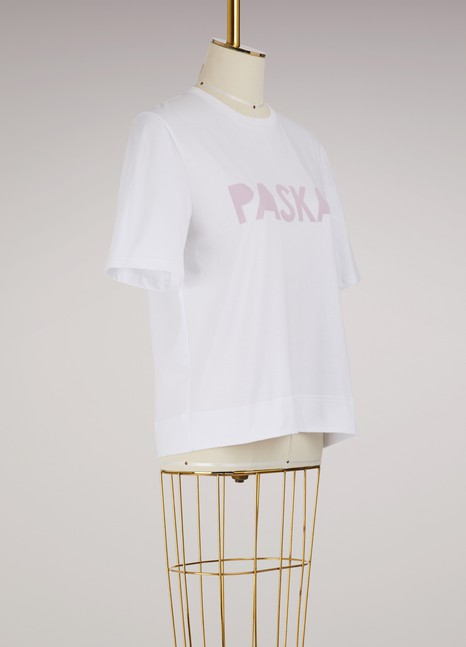 Paskal Cotton logo T-shirt