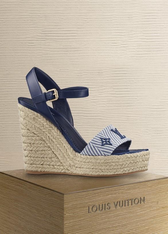 dd6d728fc7b2 Louis Vuitton Sail Away Wedge Sandal