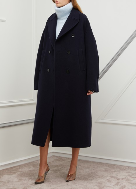 newest 14041 4f97d Women's Fidenza wool coat   Jil Sander   24 Sèvres