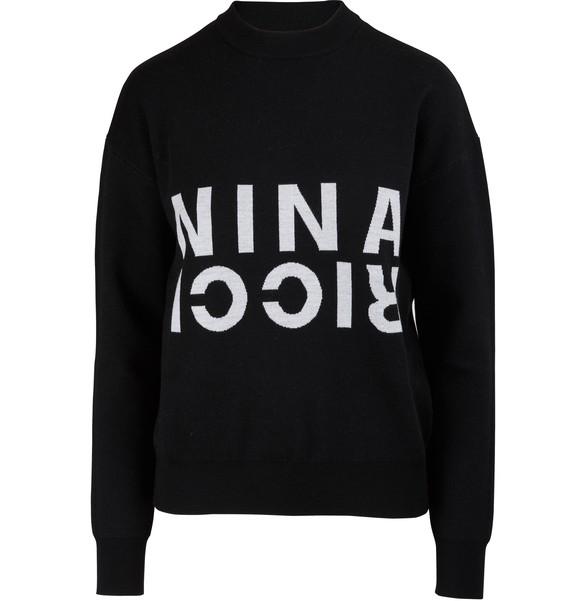NINA RICCIDouble sided wool jumper