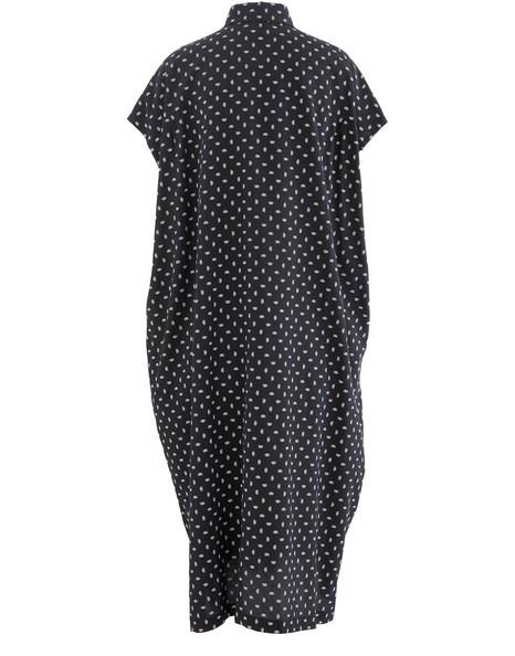 BALENCIAGARawcut short-sleeved dress
