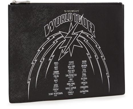 GIVENCHYWolrd Tour zipped pouch