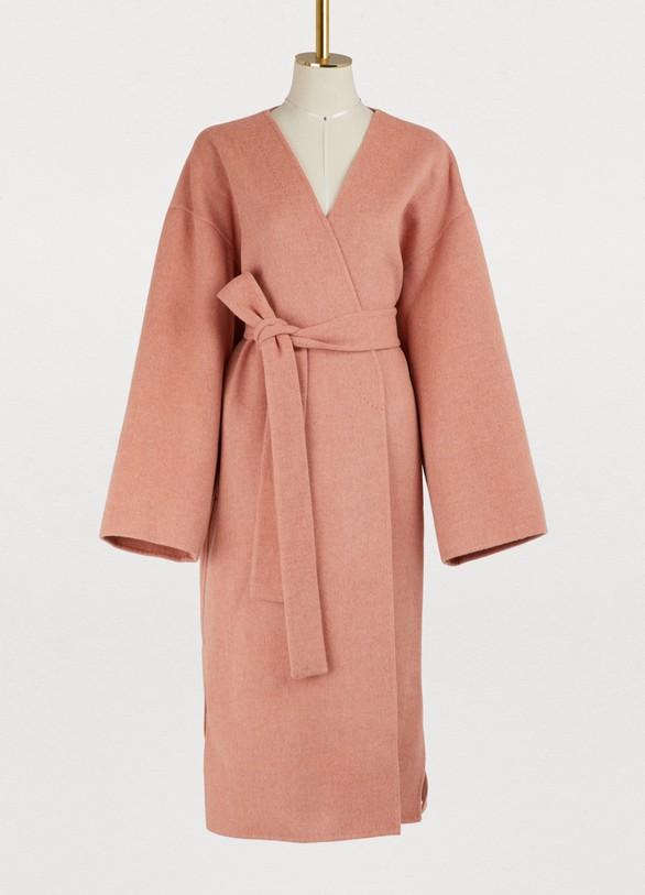 Manteau kimono en laine et cachemire femme   Acne Studios   24 Sèvres a4cef1ea92b