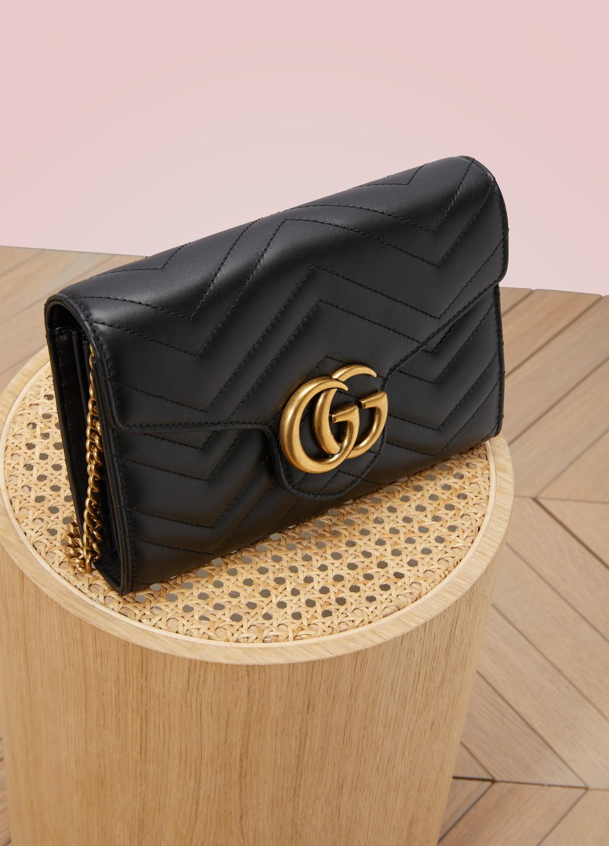 GUCCIGG Marmont matelassé shoulder bag