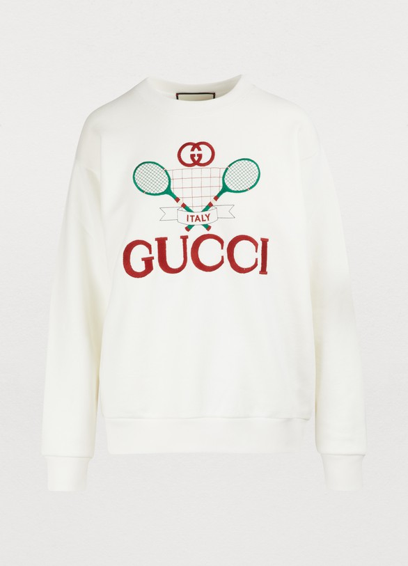 GucciSweatshirt GG tennis