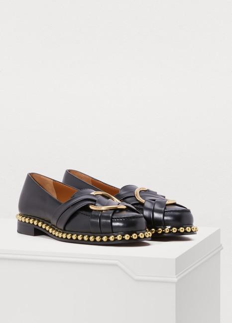 ChloéStudded loafers