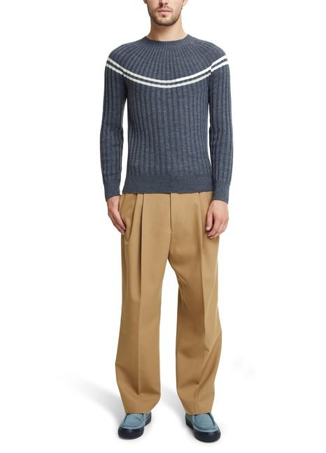 DRIES VAN NOTENTakota round neck jumper in merino wool