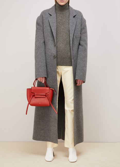 3889c2588983 Women s Nano Belt bag in grained calfskin