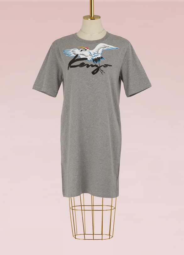 KenzoRobe sweatshirt Stork en coton