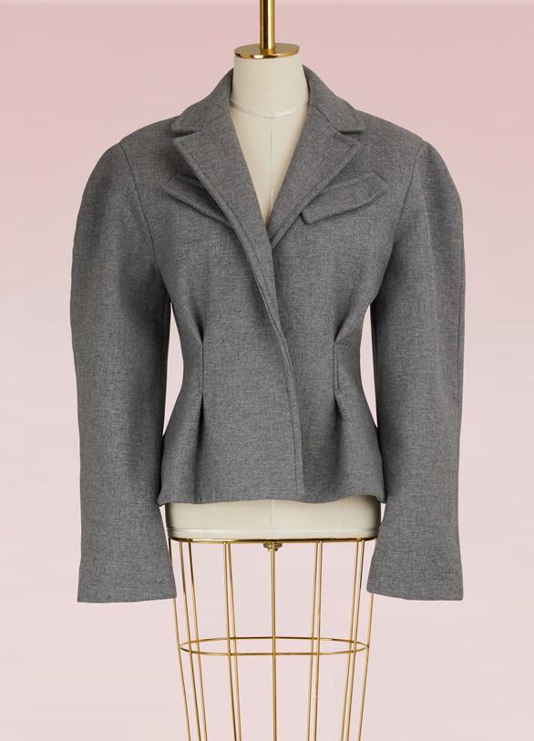 JacquemusVeste courte en laine vierge