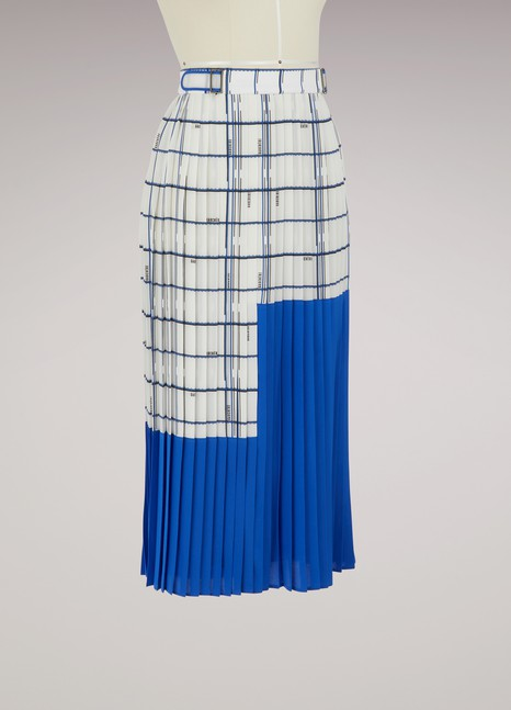 Gauchère Lexie pleated skirt
