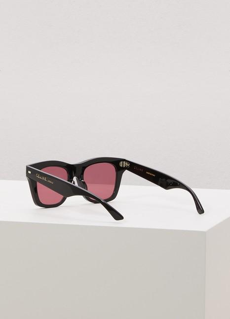 CélineSquare sunglasses in acetate