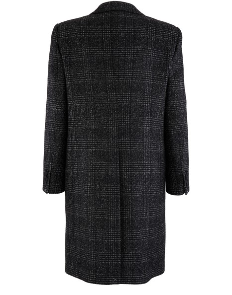 CELINEChesterfield coat in Prince of Wales check