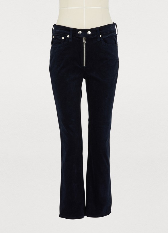 Rag & BoneDojo velvet pants