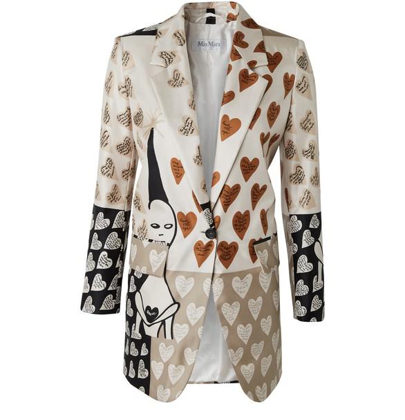 MAX MARAAbete silk jacket