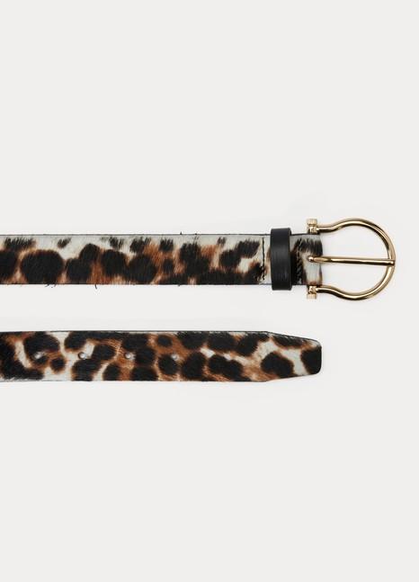 Maison BoinetCeinture léopard en cuir