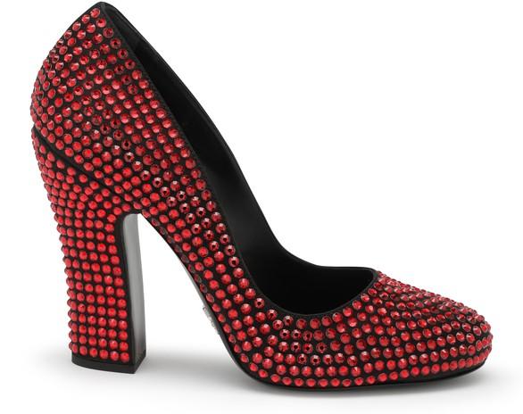 PRADASwarovski heels