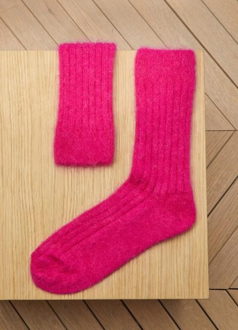 RoseannaAlpaca And Mohair Socks