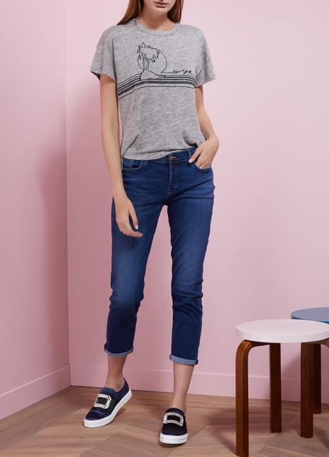 Rag & BonePalm Embroidered T-Shirt