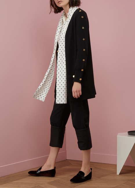 Loewe Gold-buttoned cardigan