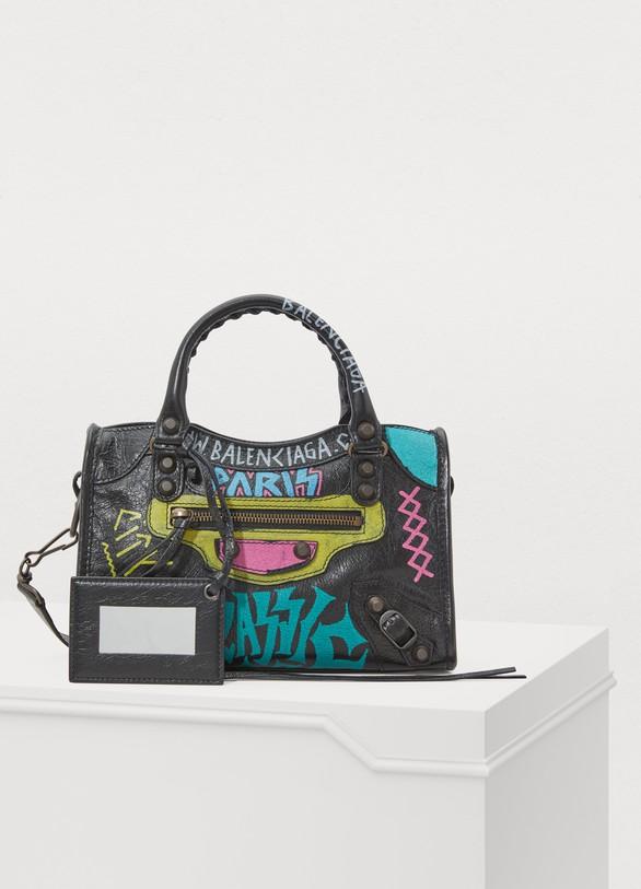 b97f44d234f2 Balenciaga City Classic mini handbag