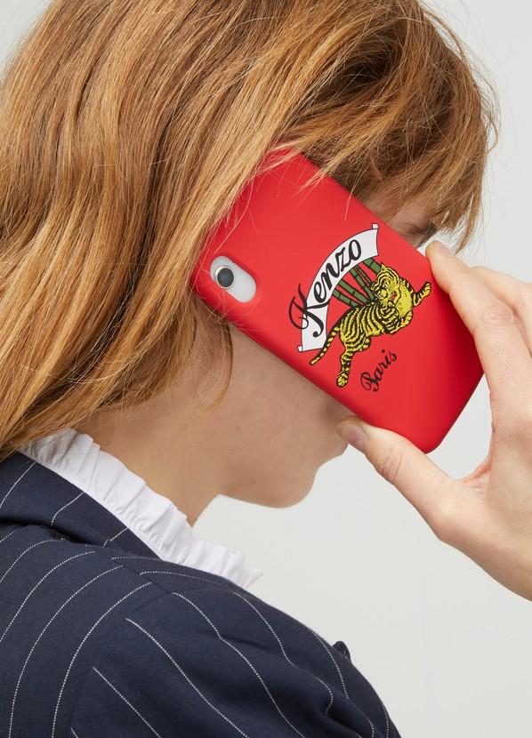 fbebf9c3aa6d ... Kenzo Tiger iPhone X case ...