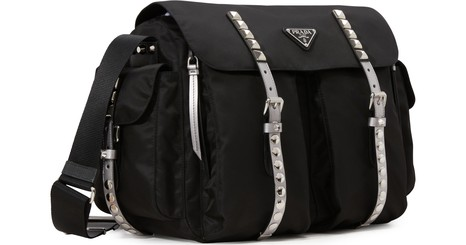 PRADANylon messenger bag
