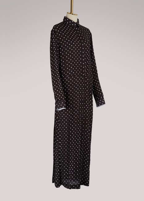 Haider Ackermann Maxi shirt dress